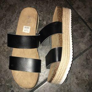 New Brash sandals size 12